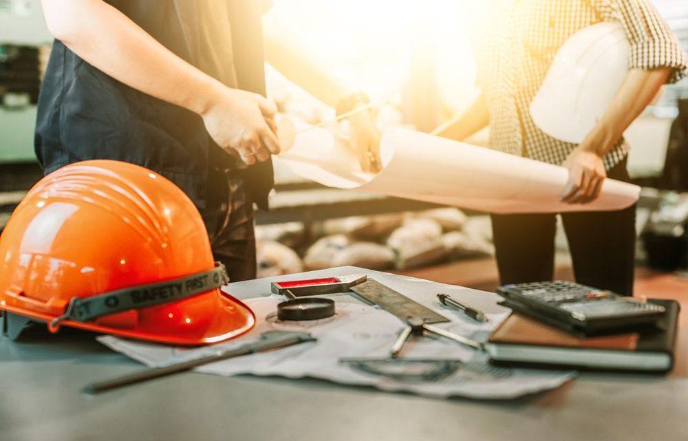 Gros plan sur les travaux de terrassement