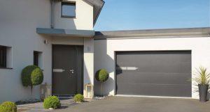 porte d'entrée et de votre portail de garage