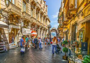 séjour agréable en Italie