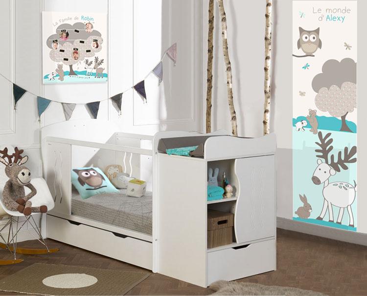 Les couleurs tendances pour la déco de chambre de bébé